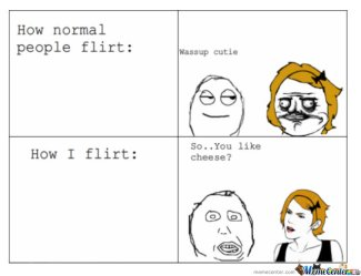 there are so many good memes on bad flirting!